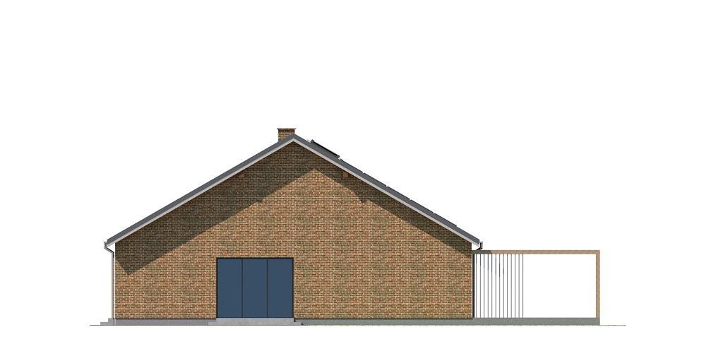 Projekt domu DM-6744 - elewacja