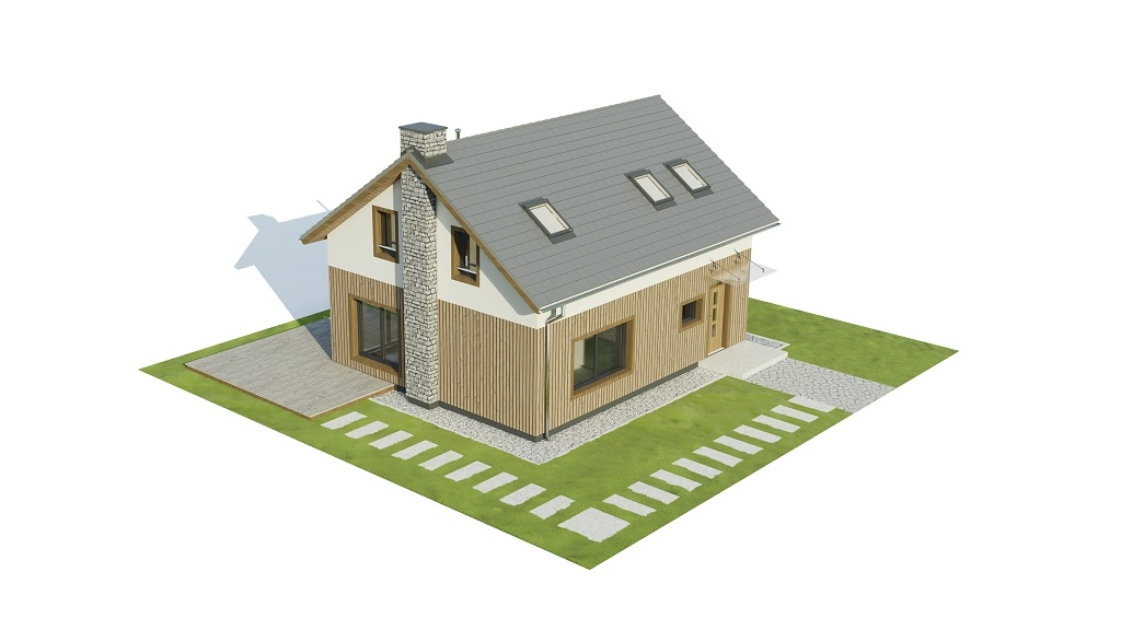 Projekt domu DM-6746 - model