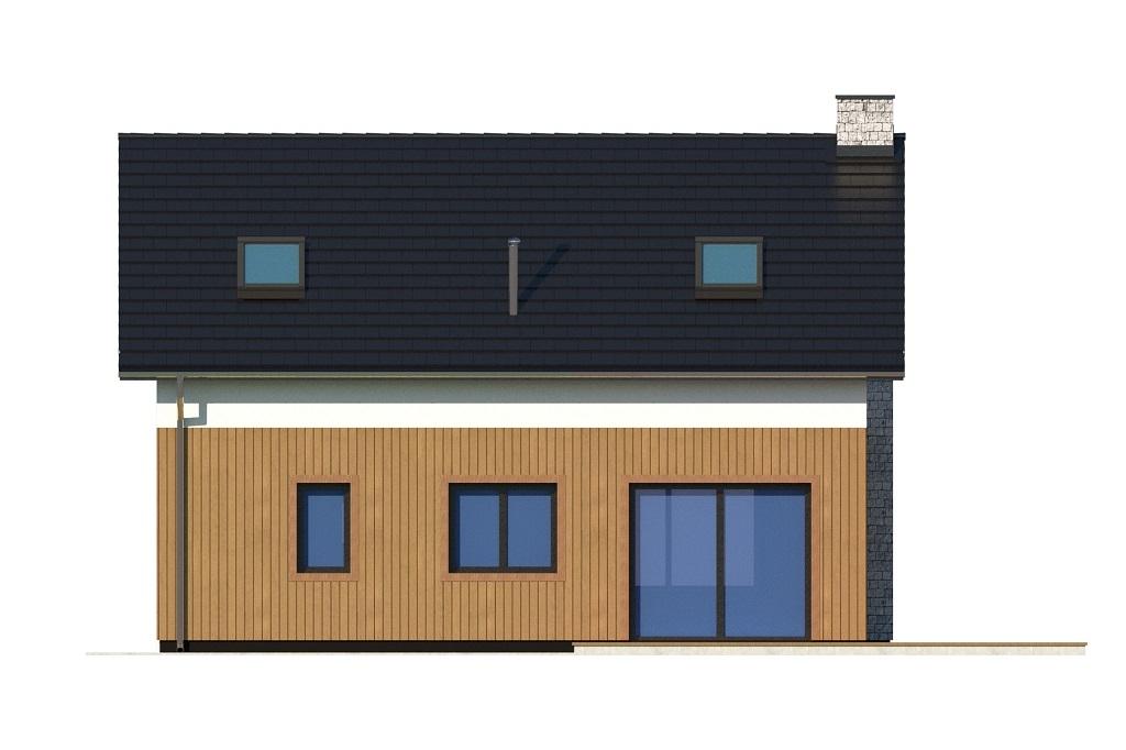 Projekt domu DM-6746 - elewacja
