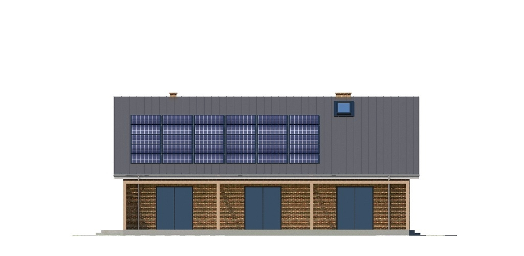 Projekt domu L-6744 - elewacja