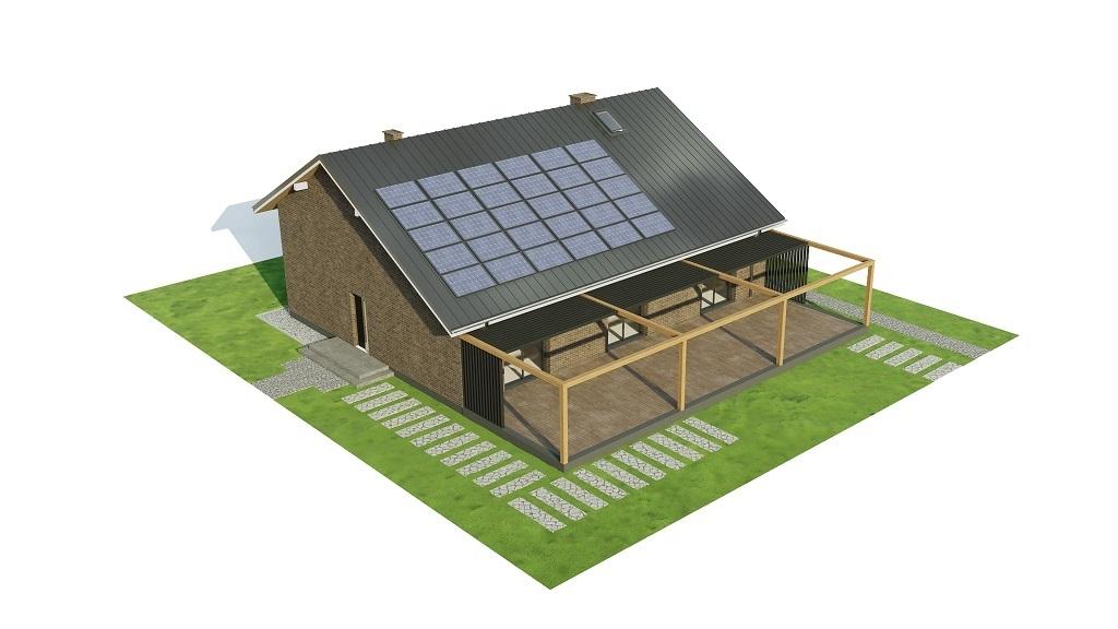 Projekt domu L-6744 - model