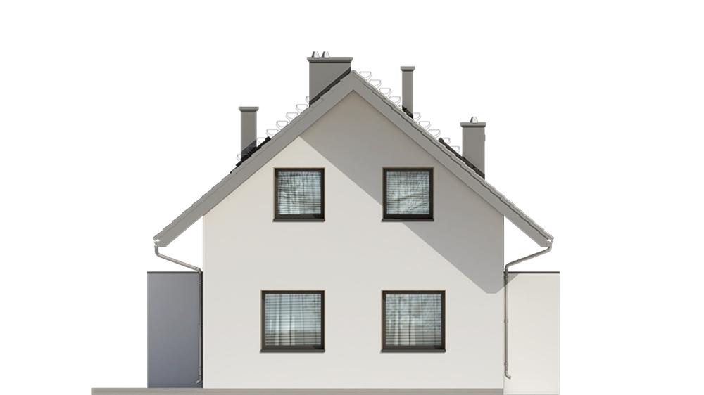 Projekt domu DM-6749 - elewacja