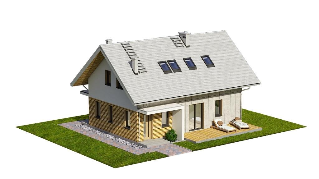 Projekt domu DM-6749 - model
