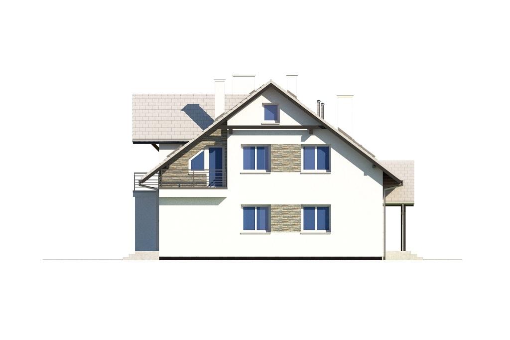 Projekt domu DM-6729 - elewacja