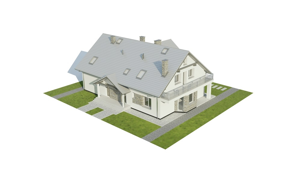 Projekt domu DM-6729 - model