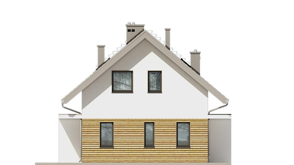 Projekt domu L-6749 - elewacja