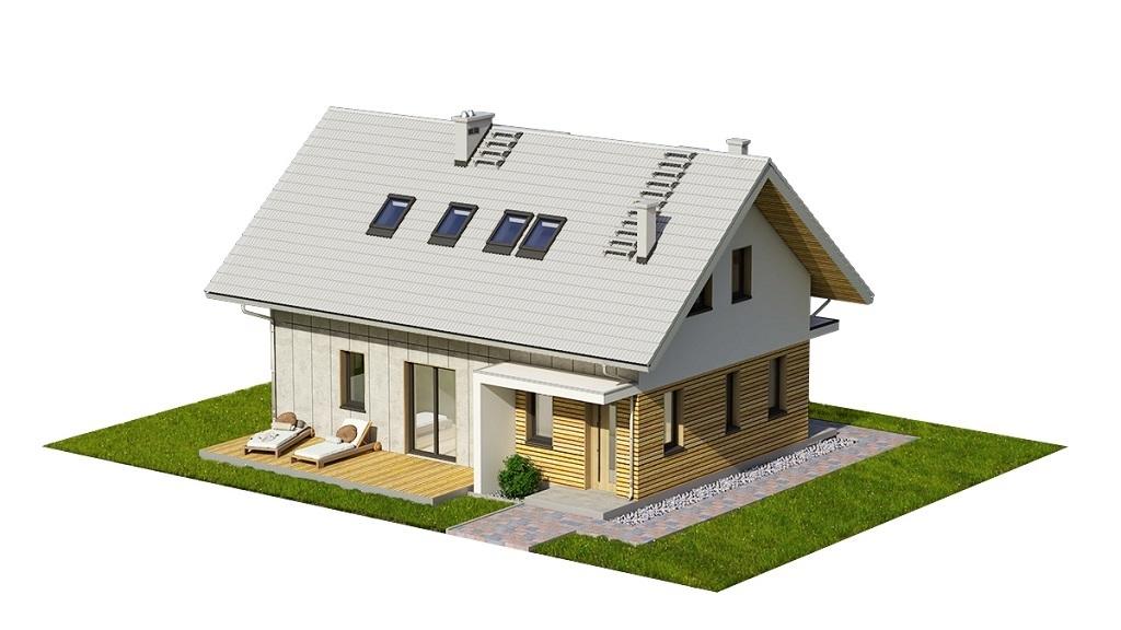 Projekt domu L-6749 - model
