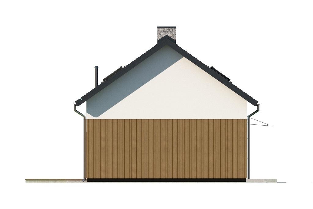 Projekt domu L-6746 - elewacja