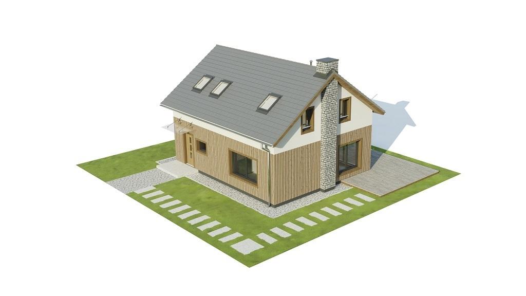 Projekt domu L-6746 - model