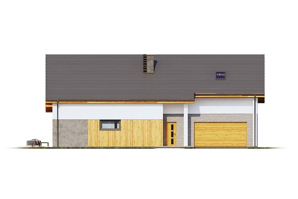 Projekt domu DM-6683 - elewacja