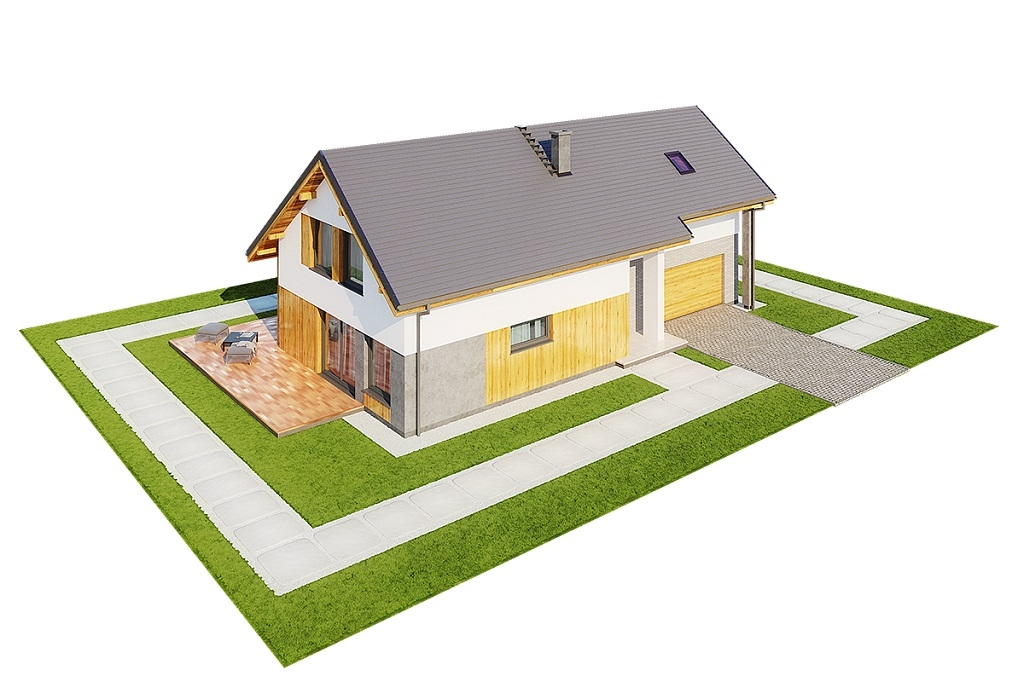 Projekt domu DM-6683 - model