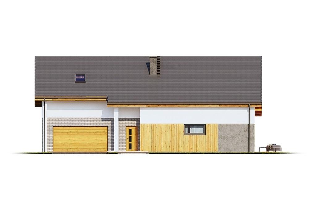 Projekt domu L-6683 - elewacja