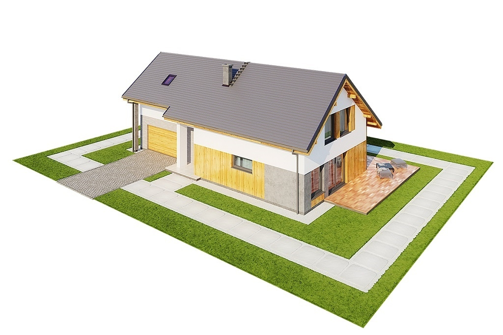 Projekt domu L-6683 - model