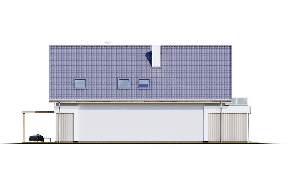 Projekt domu DM-6714 - elewacja