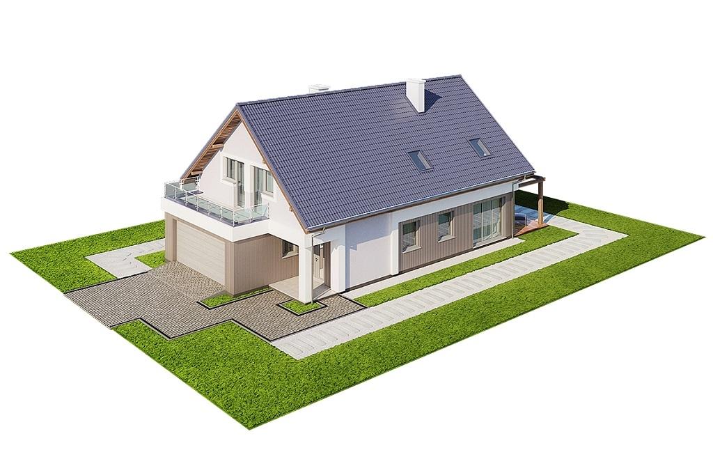 Projekt domu DM-6714 - model