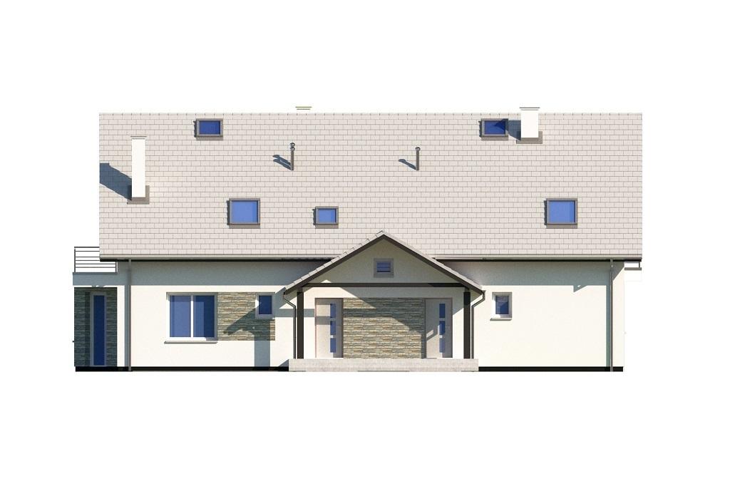 Projekt domu L-6729 - elewacja