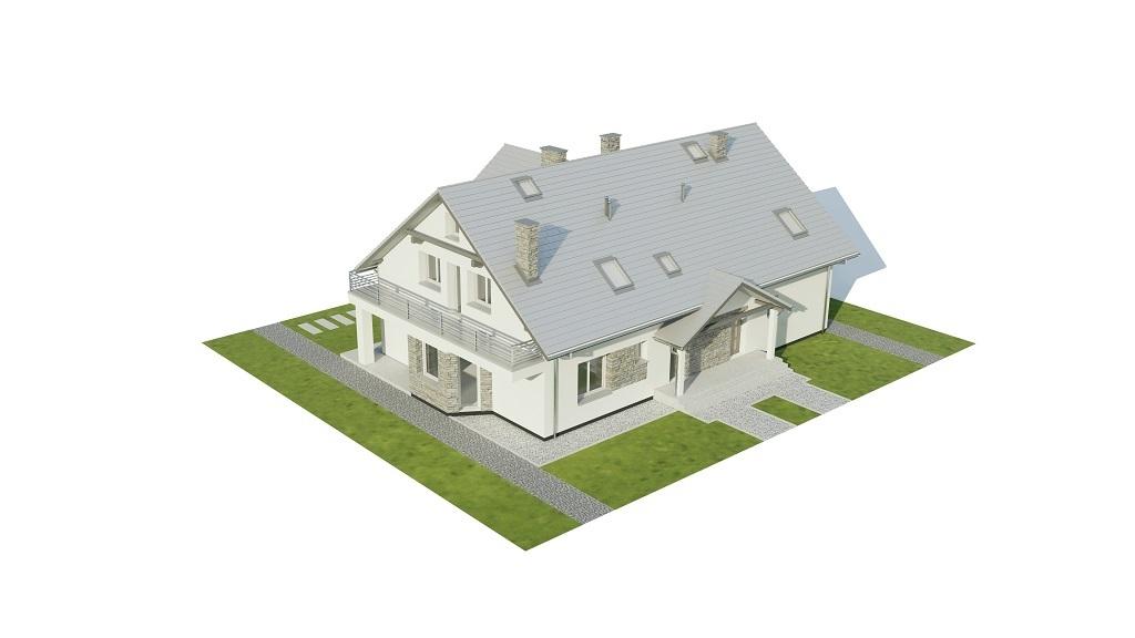 Projekt domu L-6729 - model