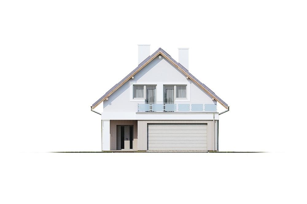 Projekt domu L-6714 - elewacja