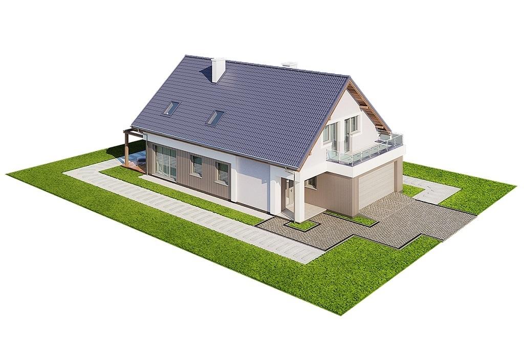 Projekt domu L-6714 - model