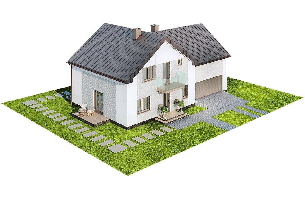 Projekt domu DM-6672 - model