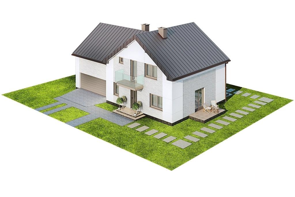 Projekt domu L-6672 - model