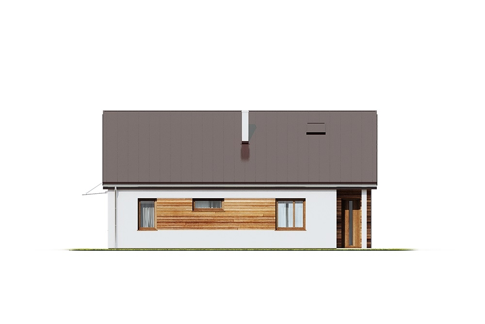 Projekt domu DM-6654 - elewacja
