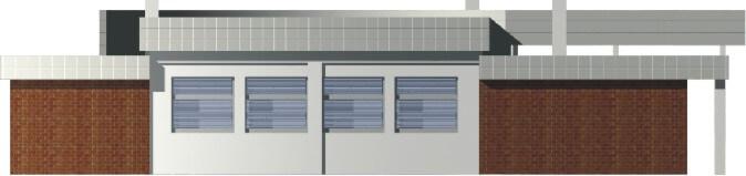 Projekt K-08 - elewacja