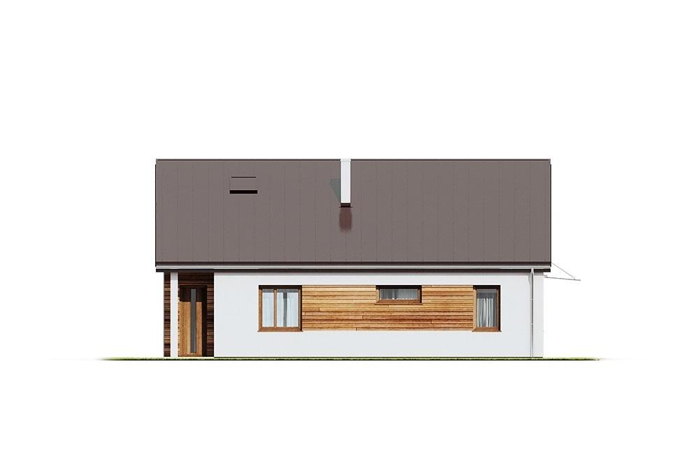 Projekt domu L-6654 - elewacja