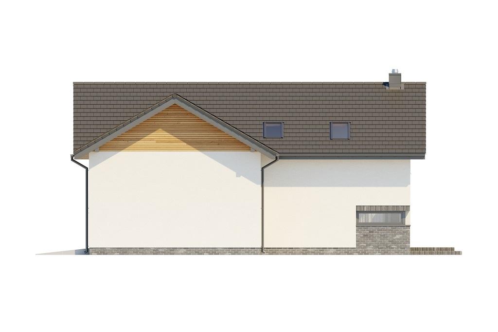 Projekt domu DM-6760 - elewacja