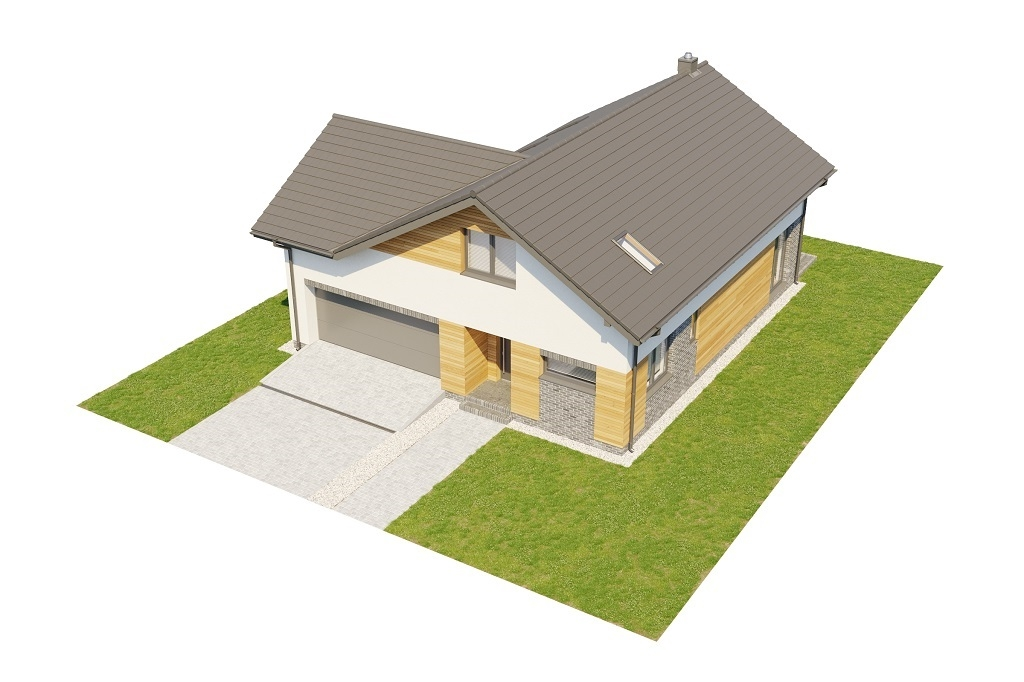 Projekt domu L-6760 - model