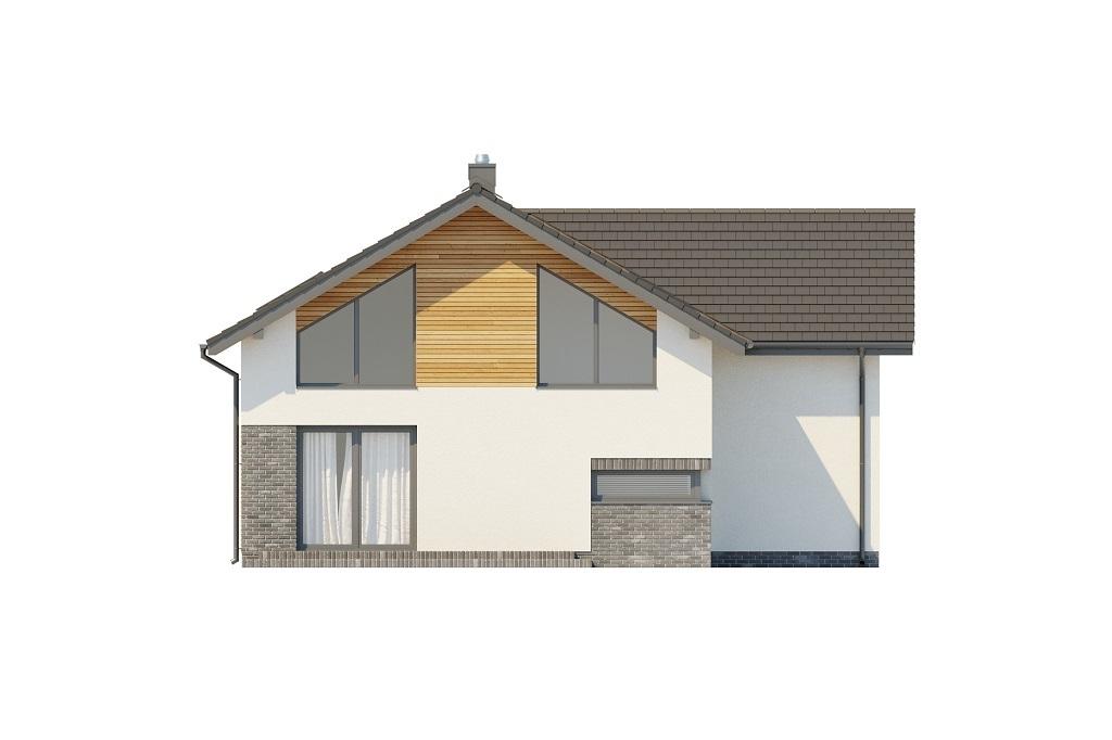 Projekt domu L-6760 - elewacja