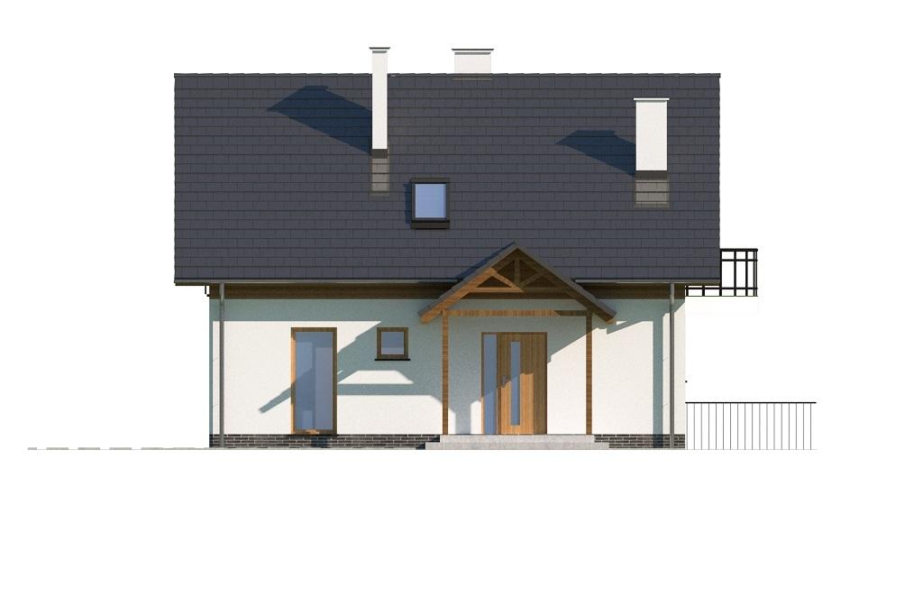 Projekt domu DM-6725 - elewacja