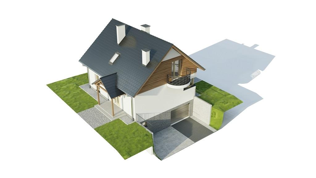 Projekt domu DM-6725 - model