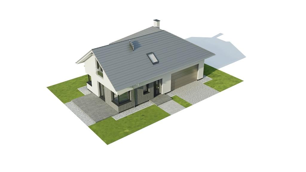 Projekt domu DM-6740 - model