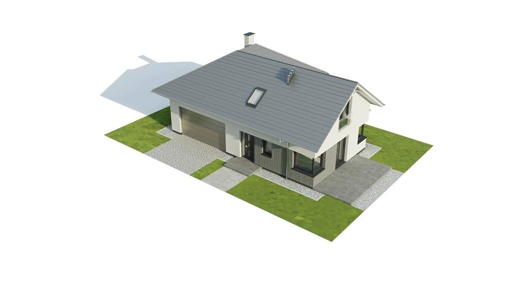 Projekt domu L-6740 - model