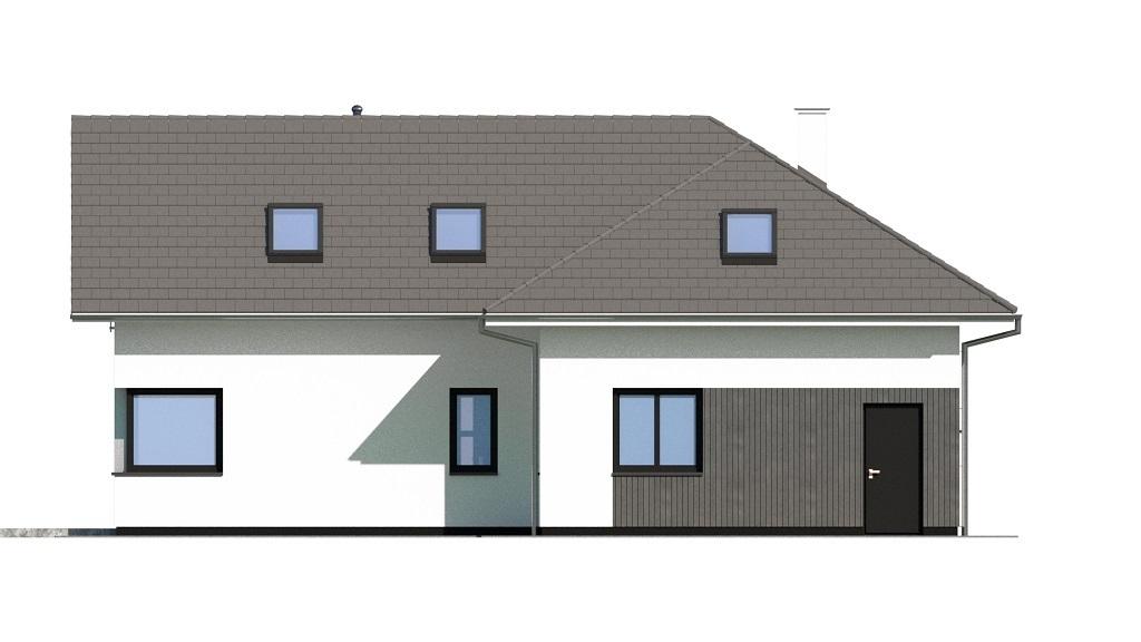 Projekt domu L-6740 - elewacja