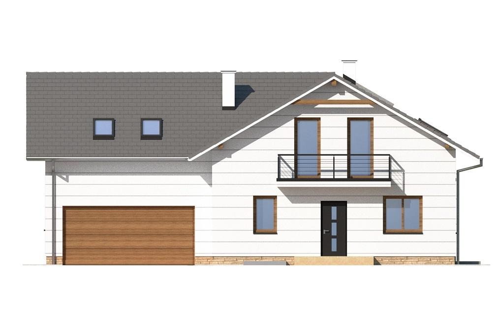 Projekt domu DM-6747 - elewacja