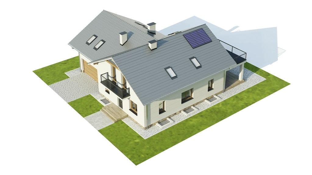 Projekt domu DM-6747 - model