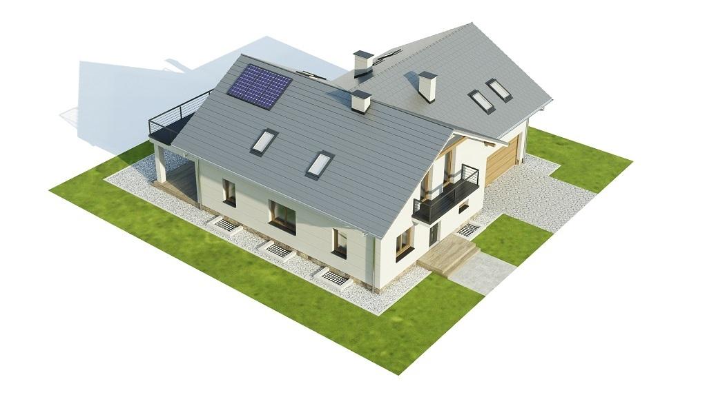 Projekt domu L-6747 - model
