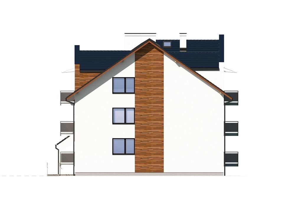 Projekt domu DM-6748 - elewacja