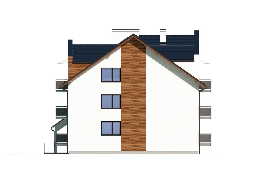 Projekt domu L-6748 - elewacja