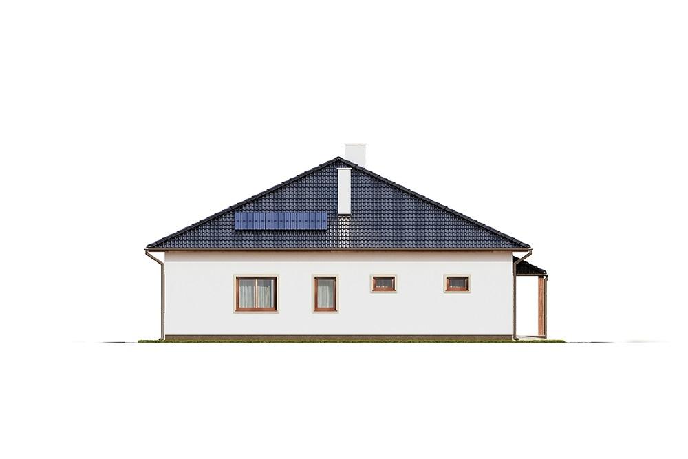 Projekt domu DM-6756 - elewacja