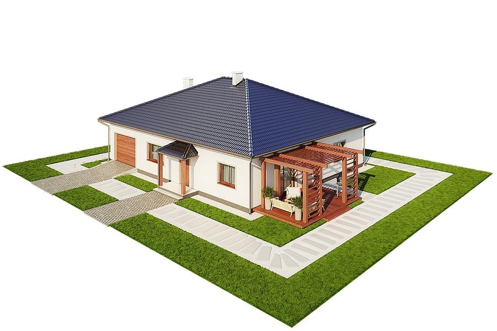 Projekt domu DM-6756 - model