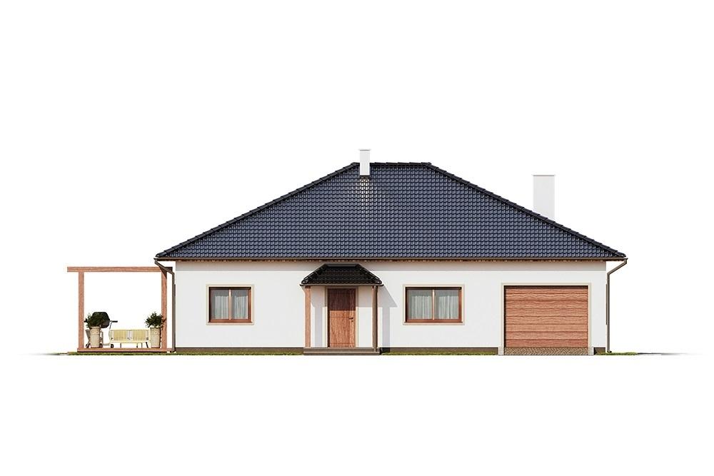 Projekt domu L-6756 - elewacja
