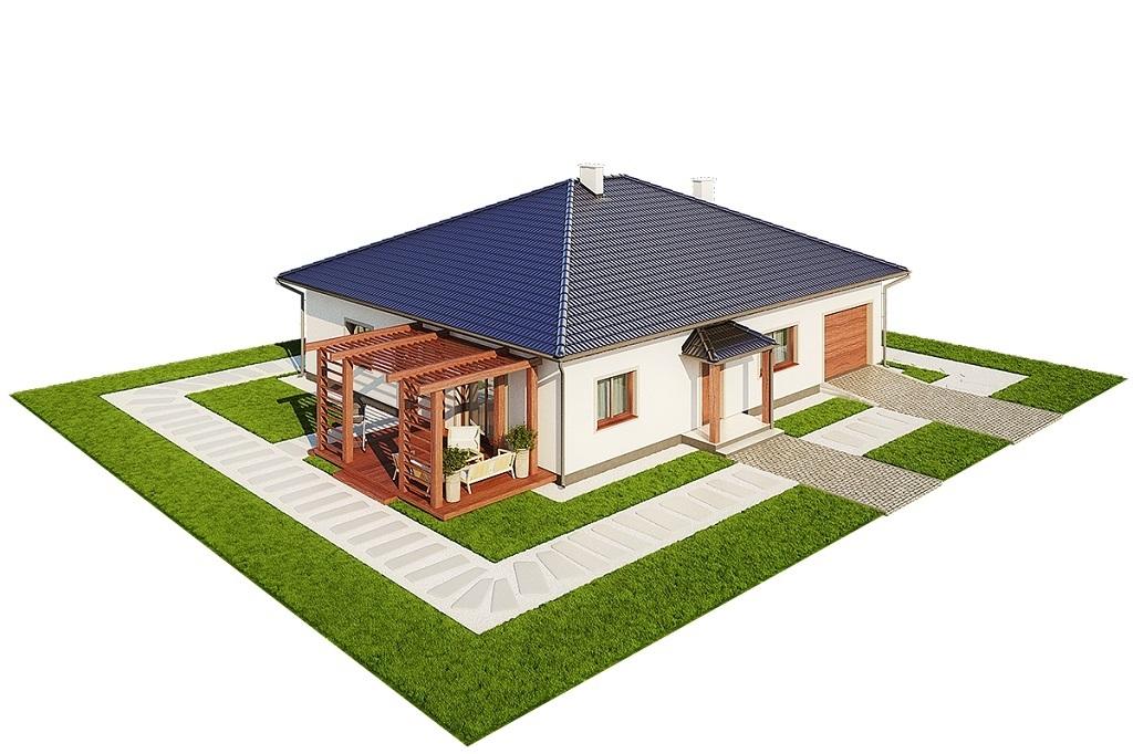 Projekt domu L-6756 - model