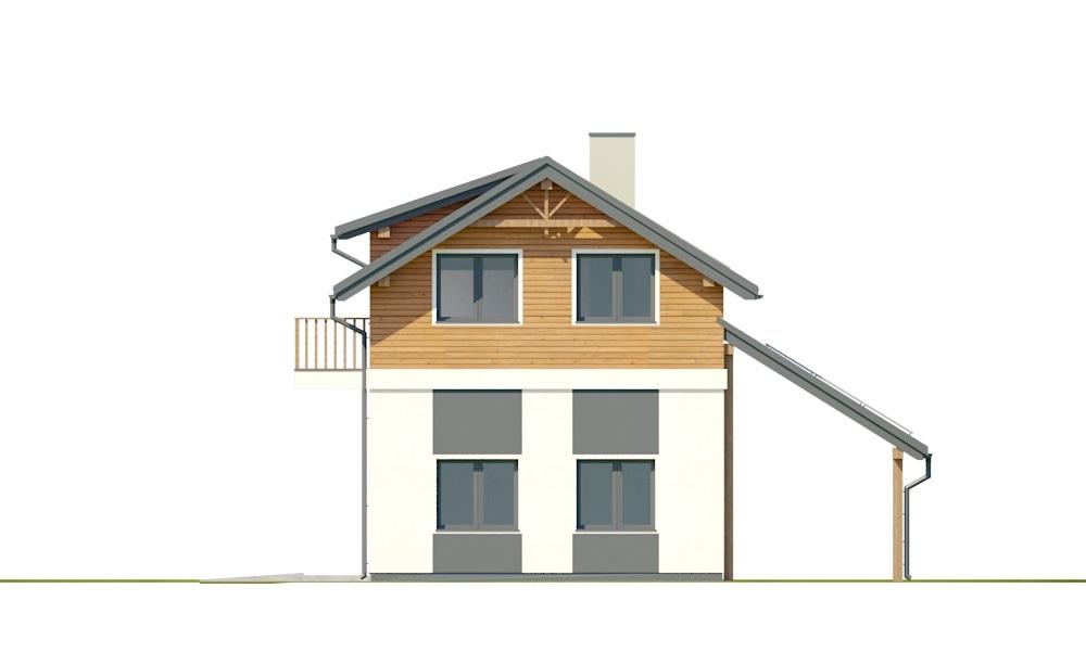 Projekt domu DM-6722 - elewacja
