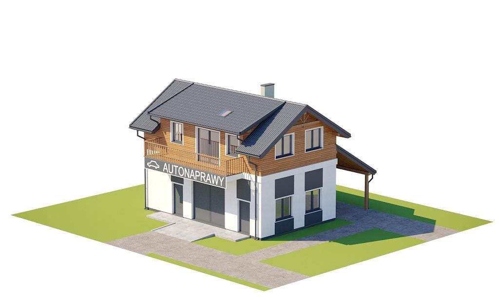 Projekt domu DM-6722 - model