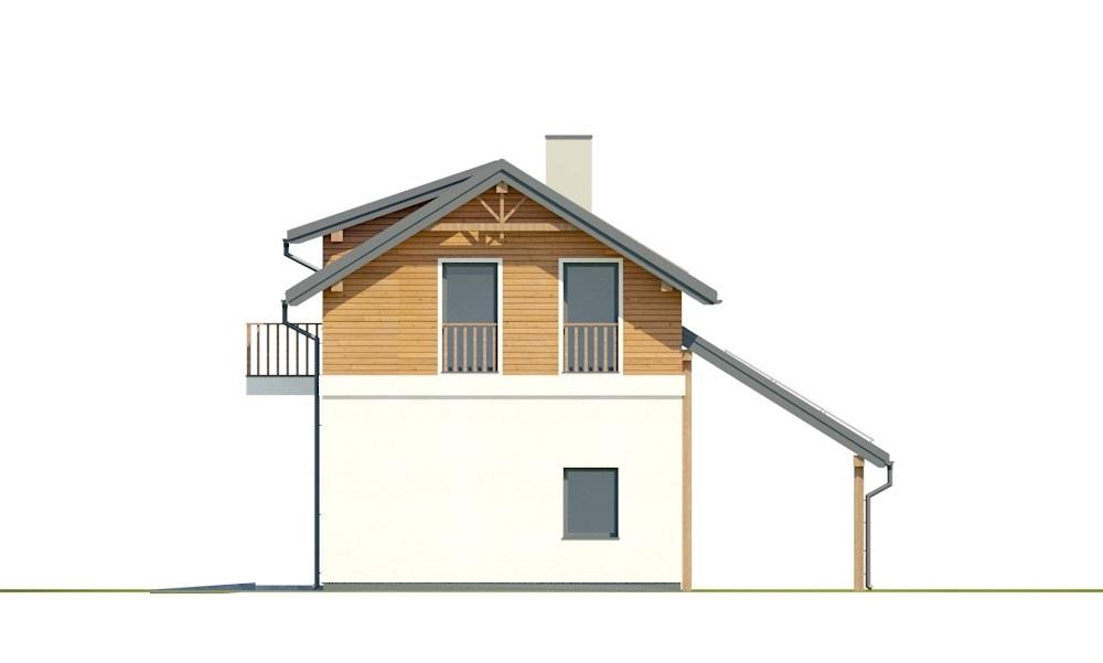 Projekt domu L-6722 - elewacja