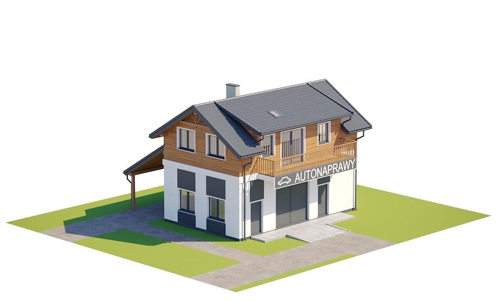 Projekt domu L-6722 - model