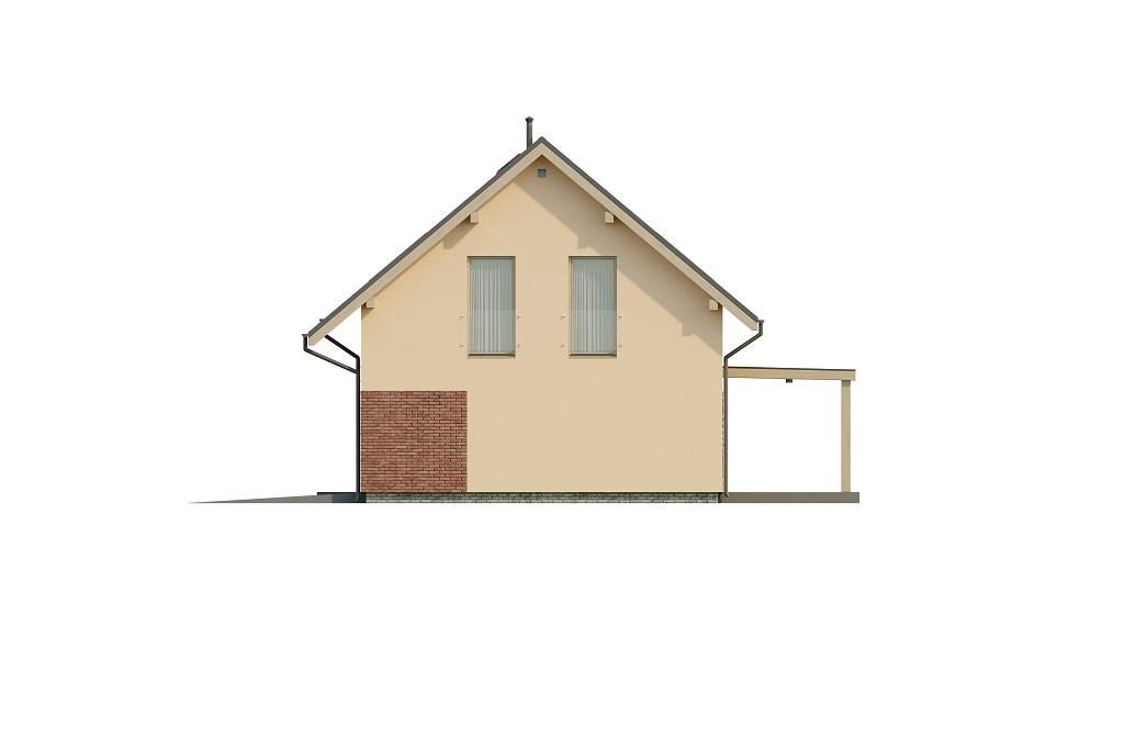 Projekt domu DM-6765 - elewacja
